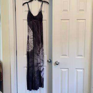 Tie Dyed Maxi Dress
